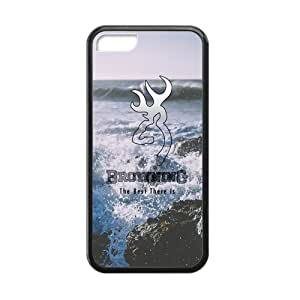 Canting_Good Browning Seaside scenery Custom Case shins for iPhone 5C TPU (Laser Technology)