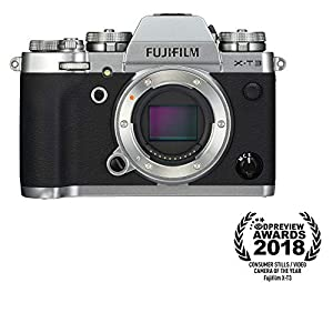 41h9T7n8ebL. SS300  - Fujifilm X-T3 Mirrorless Digital Camera (Body Only) - Silver