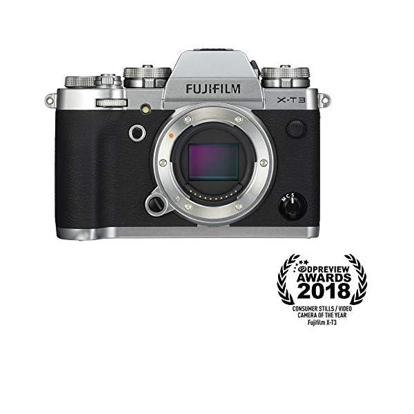 41h9T7n8ebL. SS600  - Fujifilm X-T3 Mirrorless Digital Camera (Body Only) - Silver
