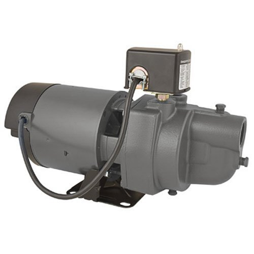 Star ES07S 3/4 HP Cast Iron Shallow Well Pump / Jet Pump  - Made In the USA by Star