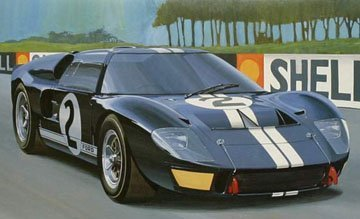 Fujimi  Scale Ford Gt  Mk Ii The First Model Kit
