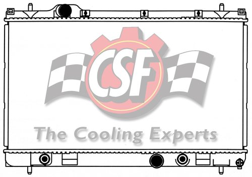 CSF 3180 Radiator by CSF