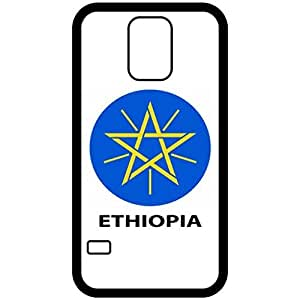 Ethiopia - Coat Of Arms Flag Emblem Black Samsung Galaxy S5 Cell Phone Case - Cover
