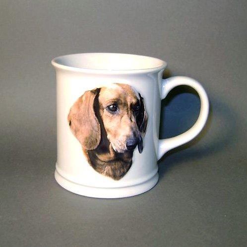 11 Oz Sculpted Ceramic Mug - Dachshund Sculpted Ceramic Mug
