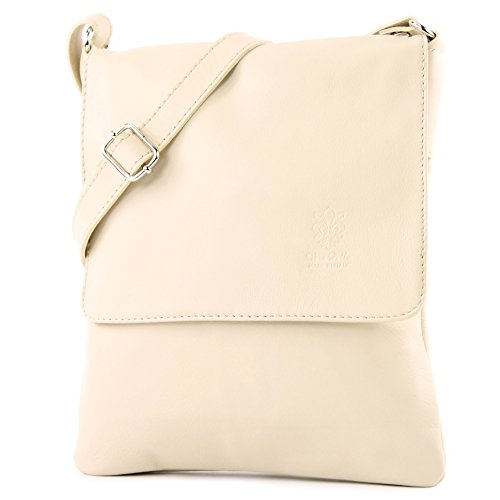 T33 ital leather ladies bag Shoulder Messenger de Ivory bag modamoda Hwxg8PSqn