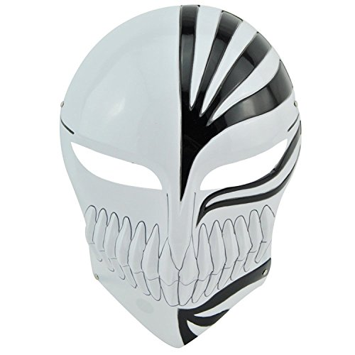 Bleach Hollow Mask - Cosplay_Rim Bleach Kurosaki Ichigo Mask Black Cool