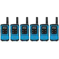 Motorola T100TP Talkabout Radio, 6 Pack