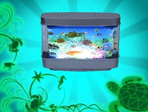 Fish & Aquariums Artificial Tropical Fish Aquarium Decorative Lamp Virtual Ocean In Motion