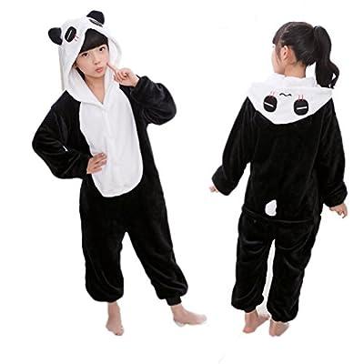 Xoemir Boys Girls Cartoon Onesie Anime Pajama Christmas Cosplay Costume for Kids
