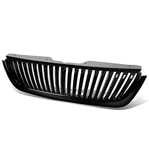 For 02-05 Ford Explorer ABS Plastic Vertical Style Front Bumper Grille (Black) - 3rd Gen U152