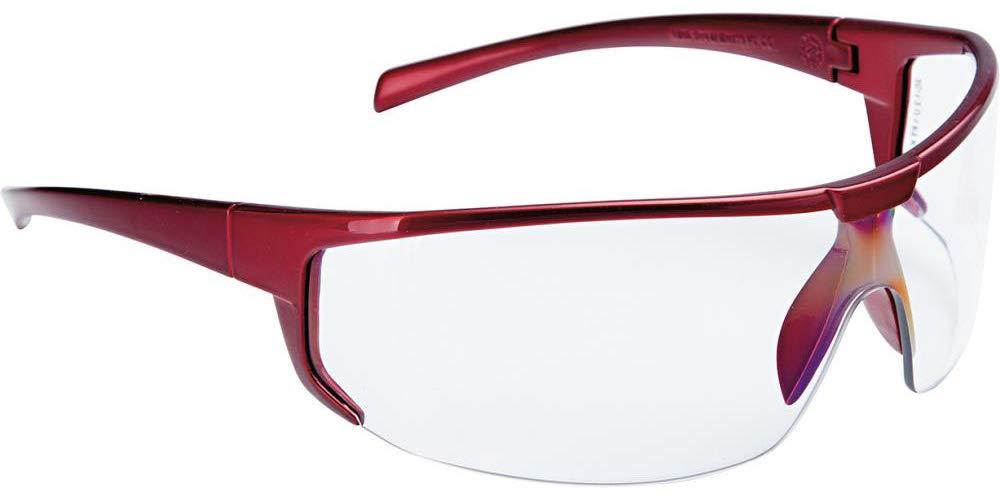Unbekannt/ /Brille Polaris rot transparenter Rahmen FORTIS
