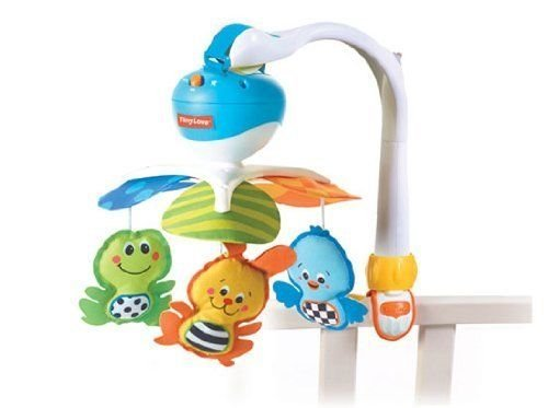 Tiny Love Jungle Animal Friends Take Along Crib (Jungle Friends Mobile)