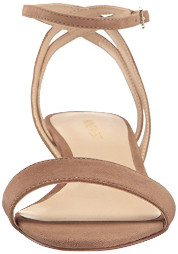 Pictures of Nine West Women's Lewer Suede Wedge Sandal 8 M US 6