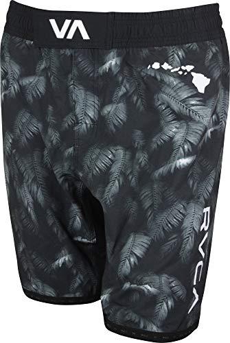 RVCA Men's BJ Penn Scrapper Short, Dark Grey, L