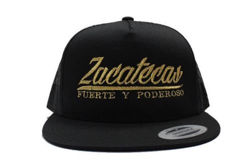 Zacatecas Fuerte y Poderoso Mesh Snapback YUPOONG