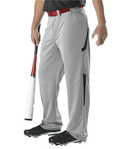 Alleson Adult Two Color Baseball Pant White, Navy M 605WL2 605WL2-WHNA-M ()