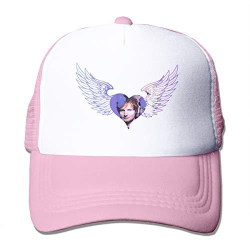 ZAZAHUI Sheeran Hat Lovely Adjustable Trucker Hat Baseball Cap Pink