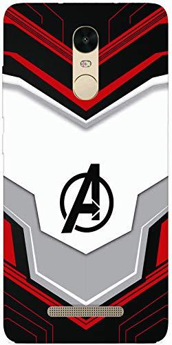SharpEseller Mi Redmi Note 3 Avenger Logo Printed Soft Designer Mobile Back Cover