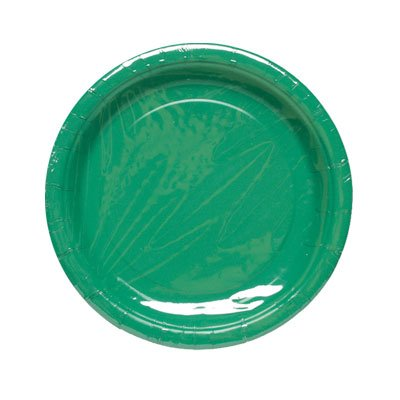 GREEN SOLID 9'' PLATE 8CT #34651, CASE OF 144