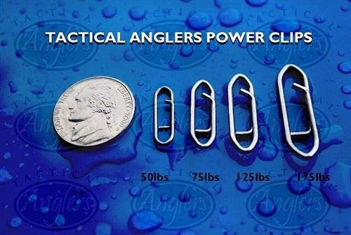 TACTICAL ANGLERS POWER CLIPS 175LB 8 PIECES by TACTICAL ANGLER'S