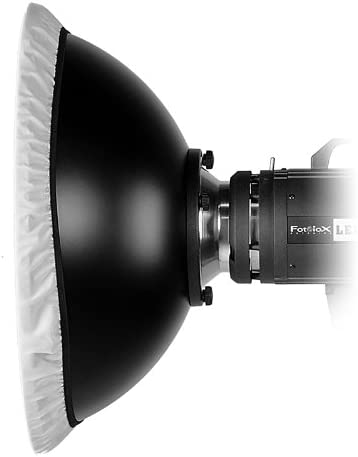 Soft White Interior Fotodiox Pro 18in Insert Alien Bees // Einstein // White Lightning All Metal Beauty Dish with Balcar 45cm