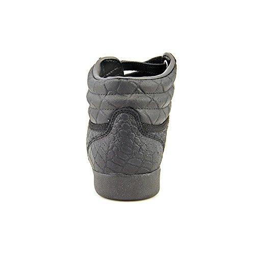 Reebok Freestyle Hi Exotiska Mode Sneaker Skor - Svart - Womens - 7,5