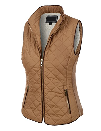 Quilted Two Pocket Vest - 7