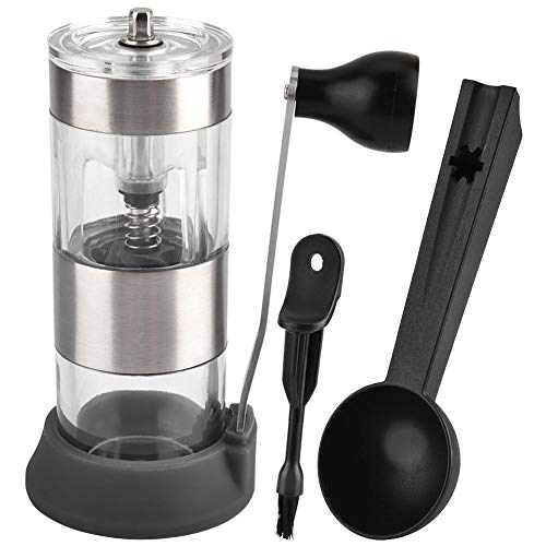 Pasamer Stainless Steel Hand Grinder Machine for Coffee Bean Grinder Spices Grains Nuts