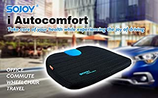 Amazon.com: Sojoy - Cojín multifunción para asiento de coche ...