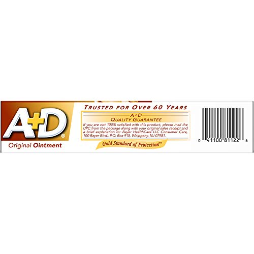 A+D Original Diaper Rash Ointment & Skin Protectant, 1.5 oz