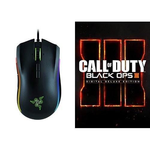 Call of Duty: Black Ops III - Digital Deluxe Edition - PC [Download Code] and Mouse Bundle
