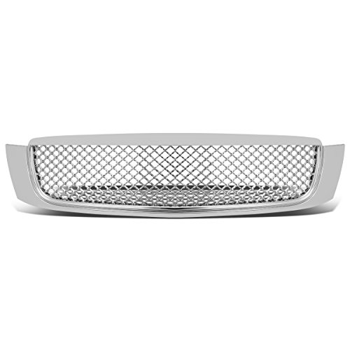 For Cadillac DeVille ABS Plastic Diamond Mesh Front Bumper Grille (Chrome) - 8th Gen