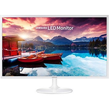 2017 Samsung 32-Inch Full HD 1920 x 1080 Slim Design Monitor with 60 Hz, 16:9, 250 cd/m2, 5ms, 5000:1, 178°/178°, HMDI, VESA Mount, White