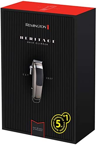 REMINGTON HC 9100 Heritage Haarschneider Grau//Schwarz