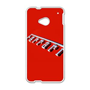 Ferrari sign fashion cell phone case for HTC One M7