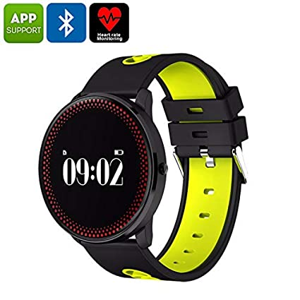 Amazon.com: Generic ORDRO CF007 Bluetooth Watch with Blood ...