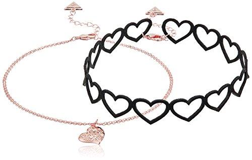 GUESS Womens Choker Pendant Necklace