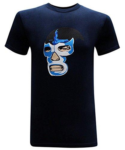 Demon Mens T-shirt (Blue Demon Men's T-Shirt - L)
