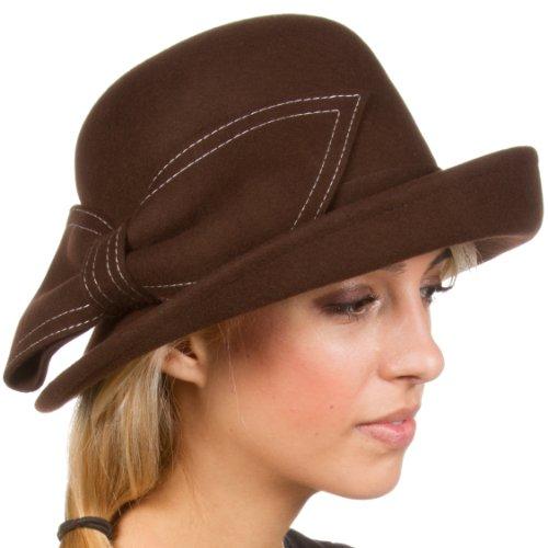 Sakka (Brown Cloche Hat)