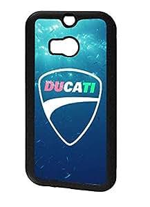 Hipster Ducati Nice Style Brand Htc One M8 Carcasa Ultra Slim Hybrid Skin Cover