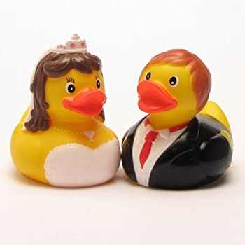 other couples as well Wedding Couple Bride /& Groom Rubber Duck Gift Set