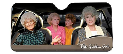 Golden Girls Windshield Sun Shade Visor -