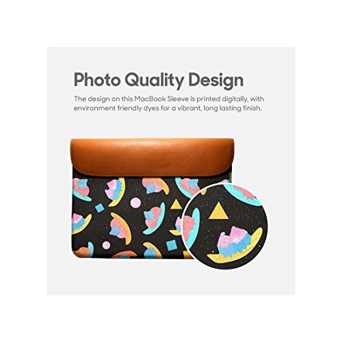 DailyObjects Air Pro For Leather Real Envelope 13 Skull Sleeve Geometric Macbook 4Wz8FB14q