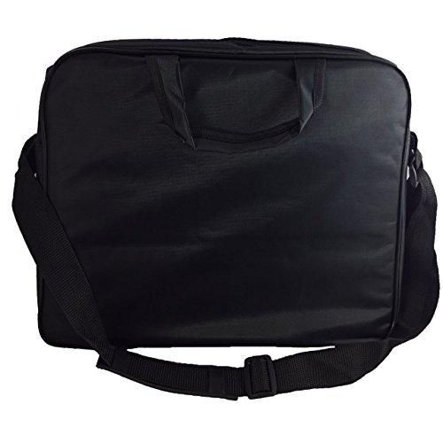 Laptoptasche für ASUS R558UQ-DM1053T Businesstasche/Aktentasche/Notebooktasche mit Schultergurt - LB Schwarz 4 kcuW0d57