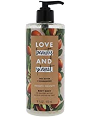 Love Beauty and Planet Shea Butter and Sandalwood Body Wash by Love Beauty and Planet for Unisex - 16 oz Body Wash, 480 milliliters