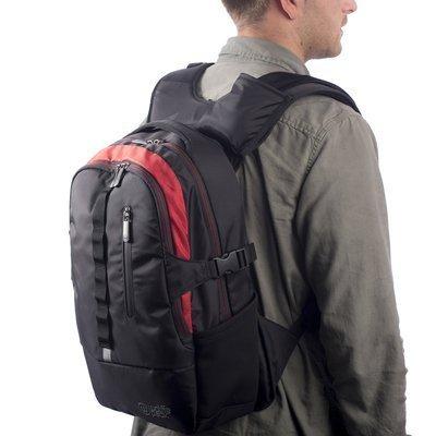 Wolffepack Escape Backpack - Award Winning Design - Laptop Rucksack Black