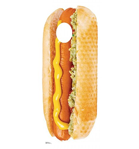hot dog cut out - 1