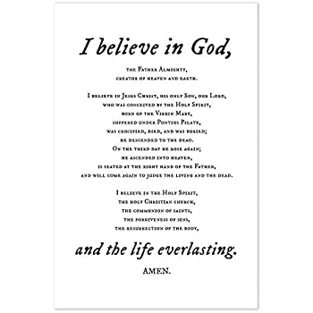 It's just a picture of Invaluable Printable Apostles Creed