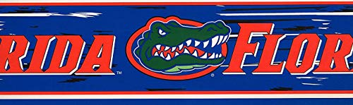 Florida Gators NCAA Fan Sports Wallpaper Border Roll 6.75