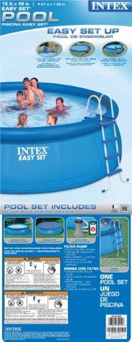 Intex Easy Set Pool Set, 15-Feet by 48-Inch, Blue by Intex (Image #7)